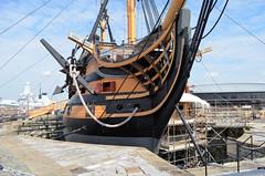 Portsmouth HMS Victory August 9th 2012 (davids pix) Tags: navy royal victory portsmouth 2012 hms dockyard 09082012