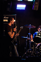 Pointing! (EricReplied) Tags: shadow ohio rock bar guitar band pathetic coverband northolmsted mikelayton slyfoxlounge