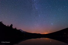 Trillium Lake Moonrise (erika eve) Tags: longexposure sky mountain lake water forest reflections stars tokina moonrise mthood nightsky trilliumlake d4 snowcappedmountain niknon 1628mm erikaplummerphotography wwwphotographyatplaycom
