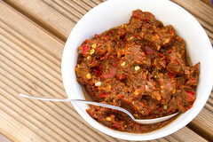 GEORGIAN FEAST: adjika / GRUUSIA PIDU: adžika (Pille - Nami-nami) Tags: food recipe recipes georgianfood naminami gruusia