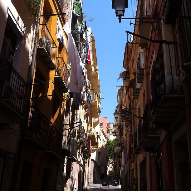 Cagliari, città di mare e di vento. Una città dove senti il profumo della città.