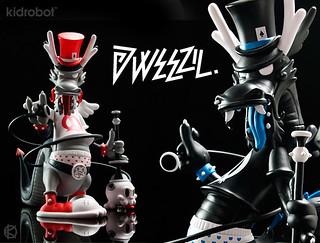 Kidrobot X Kronk最新限定大作Dweezil Dragon