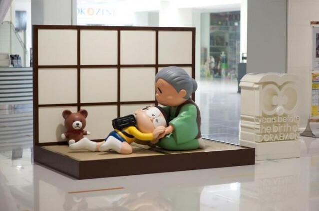你睇!!哆啦A夢嚟啦!誕生前100年祭 展覽的 三大經典場景