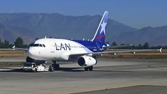Lan Airline - Airbus A318 (alobos Life) Tags: world chile santiago de airplane one airport aircraft merino panasonic lan airline airbus aeropuerto arturo dmc avion benitez scl a318 lx5