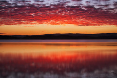 Belmont (Leighton Wallis) Tags: sunset lake clouds newcastle big dusk belmont australia nsw newsouthwales lakemacquarie stopper squidsink twittertuesday