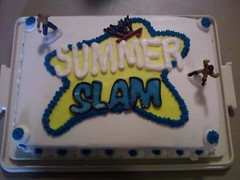 SummerSlam Cake (SugarSlam III) Tags: summerslam sugarslam
