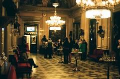 (marburi) Tags: film analog 35mm hall nikon theatre chandelier analogue fm2 50mmf18 vestibule marburi