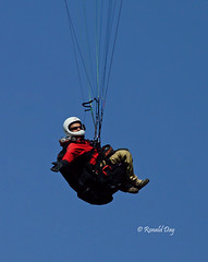 Paragliders ~Gatorade Flyby~ (Ron1535) Tags: golden colorado wing sail roll pitch paragliding soaring glider paraglider lookoutmountain thermals mtzion yaw freeflying freeflight windcurrents flexiblewing glideraircraft soaringaircraft ramairdesign paragliderpilots