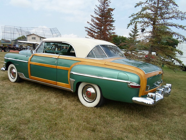 classic car townandcountry chrysler 1950
