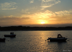 Sunset (Gerard Knight) Tags: sunset sea boats evening carne wexford gerardknight