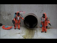 Cobra Hazard Viper diorama (Shannon Ocean) Tags: gijoe actionfigure cobra terrorism modelling diorama drains hazardviper