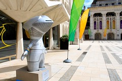 Sir Wenlock (hectordotlee) Tags: wm mandeville olympics 2012 cityoflondon paralympics wenlock guildhall london2012 dpswide