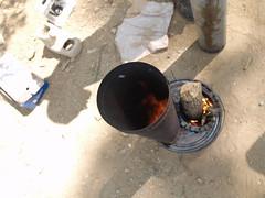 Rocket Stove Workshop (Mark Angelini) Tags: heating permaculture biomass rocketstove rocketmassheater sustainablecooking ernieanderica