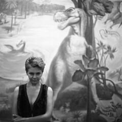 Evolution #4 (Andrei Sorokin) Tags: portrait bw film dinosaur delta evolution ps bronica ilford 80mm microphen zenzanon
