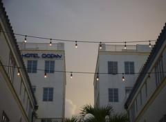 Hotel Ocean (sandrine L.) Tags: light usa beach dawn florida miami artdeco southbeach hotelocean