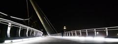 Harbor Drive Pedestrian Bridge (Jon Scally) Tags: elements harbordrive night bridge samsung nx300