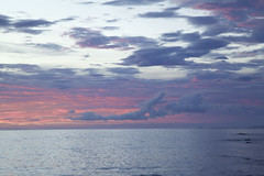 Dragon Cloud (f/ames) Tags: ocean sunset cloud water beautiful costarica dragon pacific pinkandblue