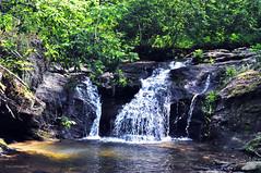 CUPID FALLS 4 (KayLov) Tags: vacation travel mountains ga georgia camping creek river waterfall running flowing moving rushing cupid falls young harris rocks