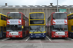 Dublin Bus Driver Trainer AV155 00-D-70155 - AV270 02-D-20270 - AV159 00-D-70159 (Will Swain) Tags: broadstone depot 12th june 2016 bus buses transport travel uk britain vehicle vehicles county country southern south east ireland irish city centre yard garage central trainer trainers dublin driver av155 00d70155 av270 02d20270 av159 00d70159