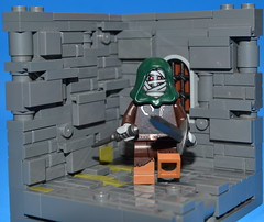 The Dungeon of Daggerfold: Day 1 (Crazy crownie guy) Tags: lego you dragons dungeon mummy dd dungeons