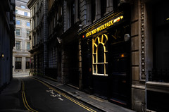 The Light Will Stay On (Dimmilan) Tags: uk england london urban architecture street windows building nightlight pub