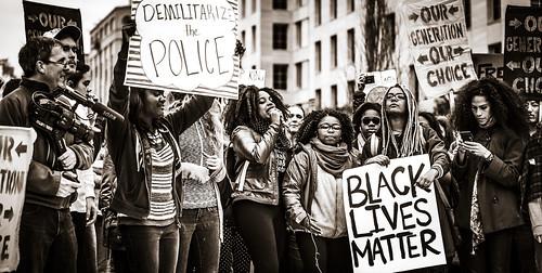 Demilitarize the Police, Black Lives Matter, From FlickrPhotos