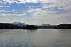 CHATUGE DAM 6 (KayLov) Tags: vacation travel mountains ga georgia camping lake dam chatuge shore island landscape