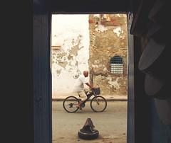 Tunisia. (OhSkeeter_) Tags: tunisia cityscape street sicily sun estate travel colors allaperto afteroon dettagli scorci canon bicicletta quotidianet dettails viaggi