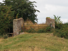 farm bridge (mark.griffin52) Tags: olympusem5 england buckinghamshire slapton track meadow farm gate bridge