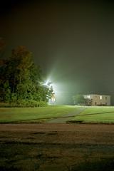 (Patrick J. McCormack) Tags: fuji gw690 kodak portra film 120 analog night glow fog mist