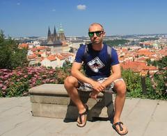 Prague (alby83) Tags: praga prague summer holiday hotbuttered sunglasses hawkers sandals birkenstock tshirt church castle