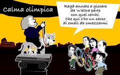 Grillo con molta calma olimpica ha detto no alle olimpiadi romane (SatiraItalia) Tags: satira roma grillo olimpiadi
