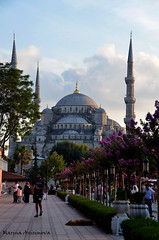 Sultan Ahmed Mosque, Istanbul, Turkey (Marina Anisimova) Tags: istanbul travel vacation summer mosque sultanahmed culture history architecture turkey monument tour tourist city oldcity old