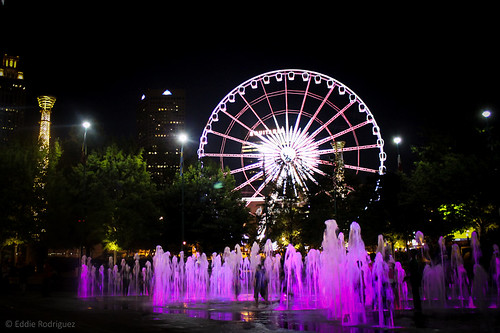 Wheel at the Fountains