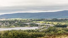 Foyle Bridge on a hazy day (areavie@gmail.com) Tags: foyle lough river londonderry derry nikon d810 full frame 2470mm allen reavie landscape bridge sky skies blue grey gray hdr