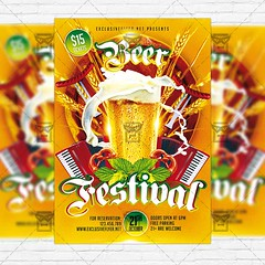 Beer Festival  Premium Flyer Template + Instagram Size Flyer (ExclusiveFlyer) Tags: drinks feast fest festival beer german germany hat lager lagger mixing munich oktober oktoberfest party pint sausage suspenders traditionaloutfit wheat