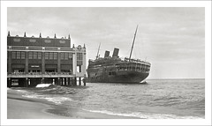 (SS-0017) - SS Morro Castle (Steve Given) Tags: ship liner passengership morrocastle newjersey grounding fire sinking disaster 1930s