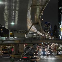 Toward Roppongi (B Lucava) Tags: tokyo roppongi moritower city cityscape night expressways footbridge shibuya urban