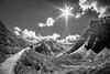 the mountains (Schub@) Tags: montafon berge gebirge alpen mountains sw bw schwarz weiss black white landschaft landscape sony a6000 alpha nex e samyang walimex 8mm f28 emount ilce6000