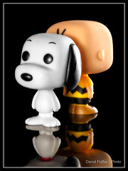 Two of a kind (Puffer Photography) Tags: stilllife movies funko actionfigures television toys funkofantasy studio comicbooks 2016 pop minifigs peanuts