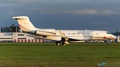 VQ-BMZ G650 Jordanian Government (kw2p) Tags: aircraft airlineoperator airport aviation egpf g650 gulfstream gulfstreamaerospace jordanairforce jordaniangovenment vqbmz