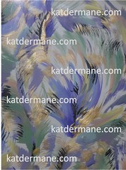 """""""Orlando"""" - Original painting by Kat Dermane. All rights reserved. (KatDermane) Tags: katdermane orlando abstract painting purple green gold black"""
