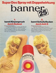 banner 1971 (Runabout63) Tags: advert banner deodorant