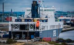 2016 - Baltic Cruise - Gothenburg Sweden - Ardenal (Ted's photos - For Me & You) Tags: 2016 balticcruise cropped gothenburg tedmcgrath tedsphotos vignetting dfdsseaways dfds dfdsroro roro gothenburgsweden detforenededampskibsselskab ship portofgothenburg port flags