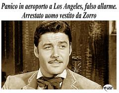 Zorro (Moise-Creativo Galattico) Tags: editoriali moise moiseditoriali editorialiafumetti giornalismo attualit satira vignette zorro losangeles