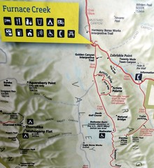 Furnace Creek Map, Death Valley (travelourplanet.com) Tags: deathvalley deathvalleynationalpark furnacecreek desert california usa furnacecreekmap