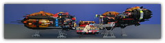 LEGO space miners ship (peter-ray) Tags: battleship starship brick moc lego space ship warship star trek wars astronave fighter peter ray shi fii shiptember