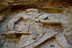 Naram Sin Rock Relief at Darband-i-Gawr (Sumer and Akkad!) Tags: naramsin naramsuen akkad akkadianperiod lulubi iraq iran mesopotamia rockrelief relief enemy corpse mountain darbandigawr qaradagh kurdistan