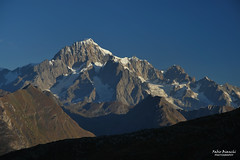 Monte Bianco (Fabio Bianchi 83) Tags: montebianco montblanc 4810 alpi alpes alps alpen graie alpigraie deffeyes lathuile valledaosta valleedaoste montagna mountain