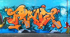 Orange is the new black (La Franz) Tags: graffiti graffitigirl graffitiart graffitigirls graffitiporn graffitiburners graffitiroma graffitistyle artwork wall wallart writing walls women colors colorsplash comicart coloredwall comics grass lake orange naranja clockworkorange clockwork lafranz franz fresh funkyfresh stickerart halloween montanacans montanablack